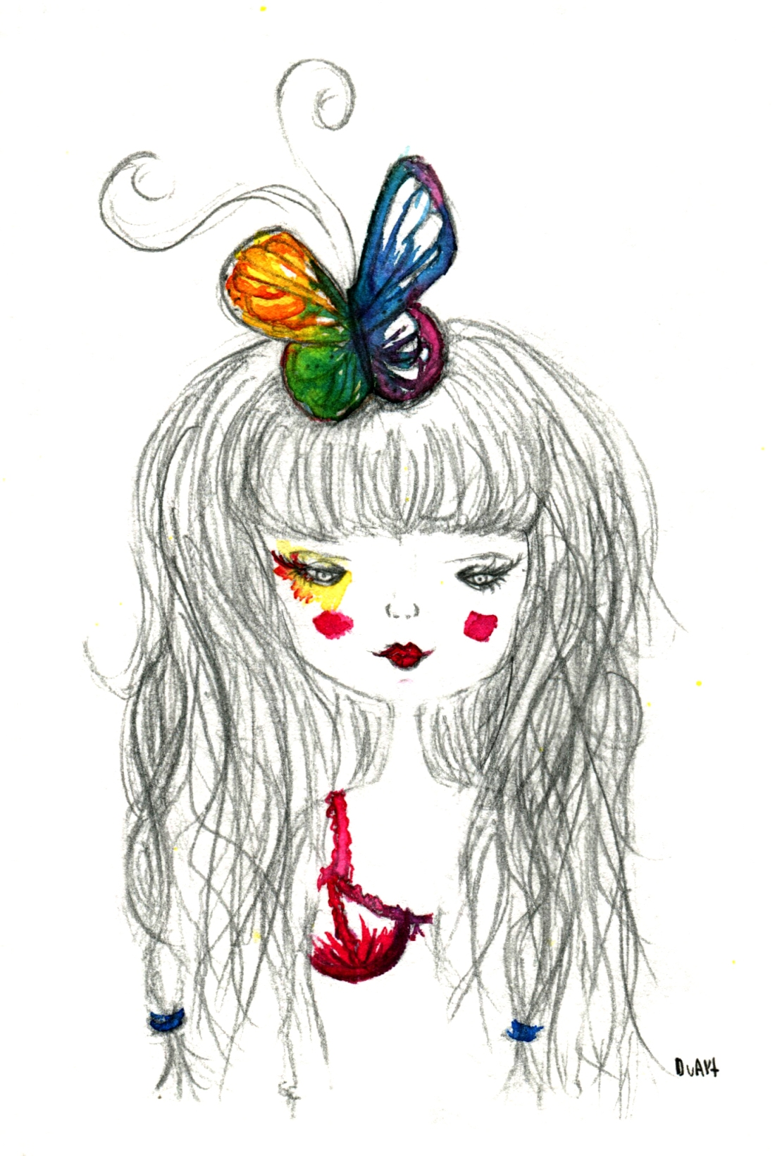 noia papallona